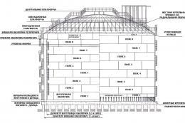 Чертеж изотермического резервуара